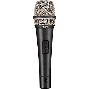Electro-Voice PL84s Cardioid Condenser Vocal Microphone with On/Off Switch