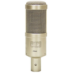 Heil PR40 Broadcast/Voice-Over Dynamic Microphone - Supercardioid