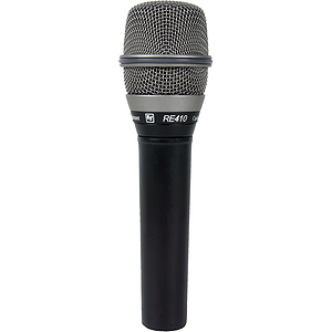 Electro-Voice RE410 High-Performance Vocal Condenser Microphone - Cardioid