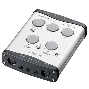 Tascam US-144 Portable Audio/MIDI Interface