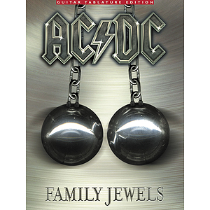 AC/DC Family Jewels Guitar Tablature Edition