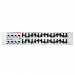 Phonic iA231F Graphic EQ - Dual Channel 31-Band Digital Graphic Equalizer with Feedback Detection