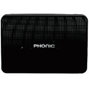 Phonic SEp207B - Powered 6 1/2 inch 20 Watt Molded Speaker - Black