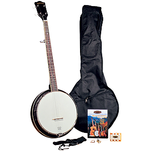 Appalachian APB-1 Pickin Pac 5-string Resonator Banjo Outfit