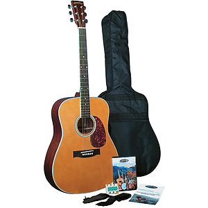 Appalachian APG-1 Pickin Pac Full Size Acoustic Guitar Pack