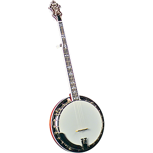Flinthill FHB-280 Mahogany Resonator Banjo