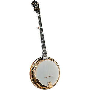 Gold Star GF-300FE Banjo - Flying Eagle Inlays