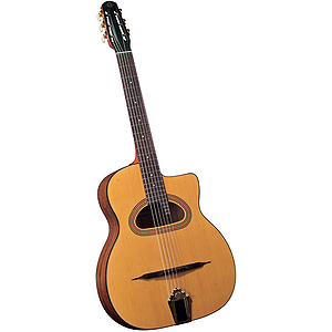 "Cigano GJ-15 ""Django"" D-hole Student Jazz Guitar"
