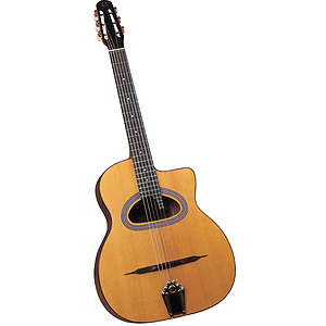 "Cigano GJ-5 ""Grand Bouche"" D-hole Student Gypsy Jazz Guitar"