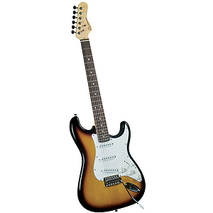 Gladiator GL-011 S-Style Electric Guitar - 2 Tone sunburst