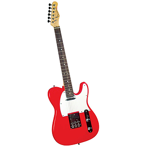 Gladiator GL-021 T-Style Electric Guitar - Red