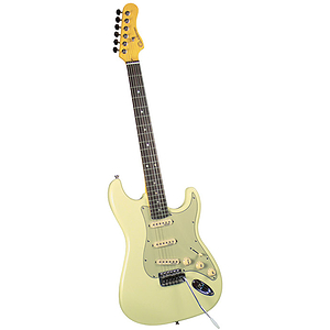 Gladiator GL-111 S-Style Electric Guitar - White