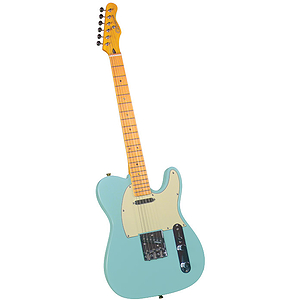 Gladiator GL-121 T-Style Electric Guitar - Sonic Blue