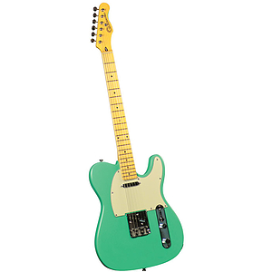 Gladiator GL-121 T-Style Electric Guitar - Vintage Green