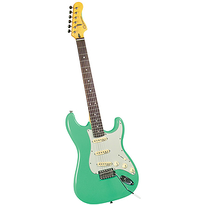 Gladiator GL-211 S-Style Electric Guitar - Vintage Green