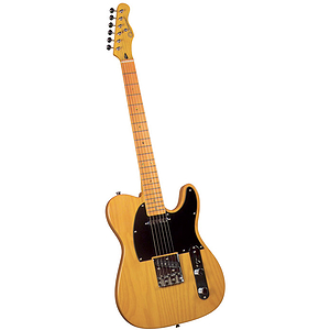 Gladiator GL-221 T-Style Electric Guitar - Amber