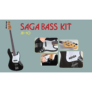 Saga JB-10 J Style Make-Your-Own Electric Bass Kit