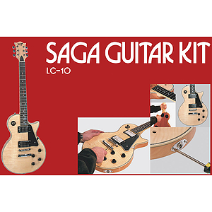 Saga LC-10 LP Style Make-Your-Own Electric Guitar Kit