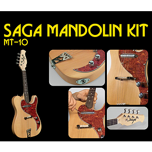 Saga MT-10 J Make-Your-Own Electric mandolin Kit