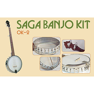 Saga OK-2 Make-Your-Own Openback banjo Kit