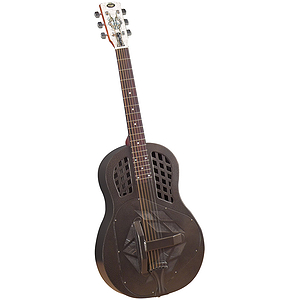 "Regal RC-58TT Metal-body Tricone Resonator - ""Texas Tea"" Finish"