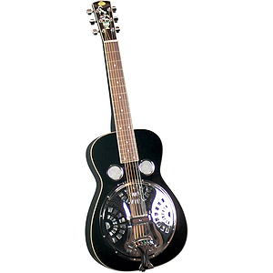 Regal RD-40BS Squareneck Studio Dobro - Black