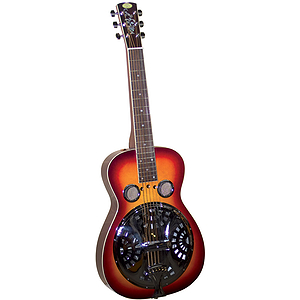 Regal RD-40CHS Squareneck Studio Dobro - Cherry Sunburst