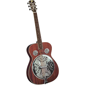 Regal RD-40M Studio Dobro - Natural Mahogany