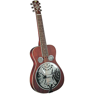 Regal RD-40MS Squareneck Studio Dobro - Natural Mahogany