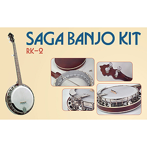 Saga RK-2 Make-Your-Own Resonator banjo Kit
