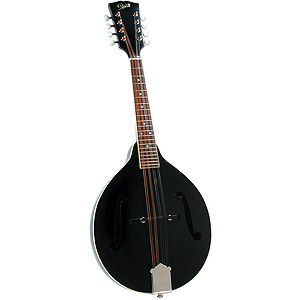 Rover RM-35BS Solid Top A-model Mandolin - Glossy Black