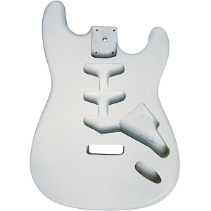 Golden Gate S-209 S Style Guitar Body - White