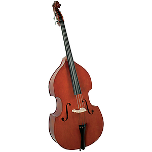 Cremona SB-1 1/4 size Premier Novice Upright String Bass with all Maple Construction