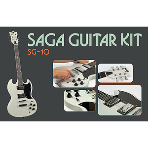 Saga SG-10 SG Style Make-Your-Own Electric Guitar Kit