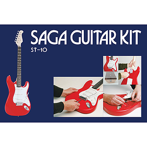 Saga ST-10 S Style Make-Your-Own Electric Guitar Kit