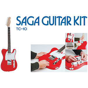 Saga TC-10 T Style Make-Your-Own Electric Guitar Kit