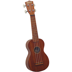 Mahalo U-200 Economy Soprano Ukulele w/Gig Bag