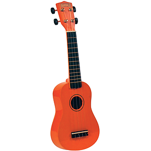Mahalo U-30OR Soprano Ukulele - Orange w/Gig Bag