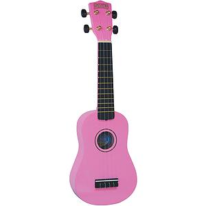 Mahalo U-30PK Soprano Ukulele - Pink w/Gig Bag