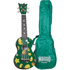 Mahalo UK-30G Soprano Ukulele Outfit - Green
