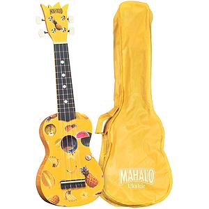 Mahalo UK-30Y Soprano Ukulele Outfit - Yellow