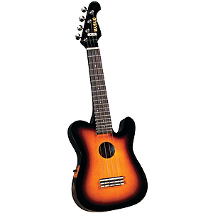 Mahalo UTL-30ESB Sunburst Electric Ukulele w/Gig Bag