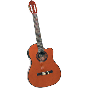 Valencia VG-190CE Cutaway Electric Classical Guitar