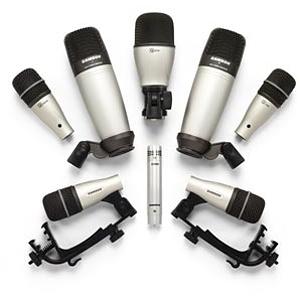 Samson DK8 8-Piece Drum Microphone Kit