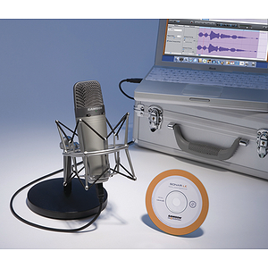 Samson C01U - USB Studio Condenser Microphone w/Recording Software