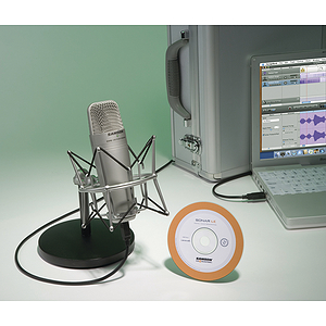 Samson Audio C03UCW Recording Pak - Recording / Podcasting Pak w/USB Mic and Recording Software