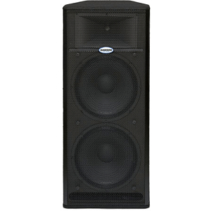 "Samson Live! 1215 - Active PA Cabinet with 2 x 15"" Drivers"