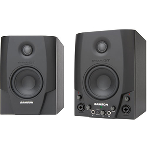 Samson Audio Studio GT - Active Monitors with USB Audio Interface