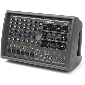 Samson XML410 6-channel Powered Mixer, 400 watts