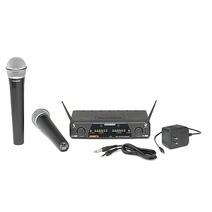 Samson Concert 277 - Dual Channel Handheld Wireless System - Channels N1 & N2